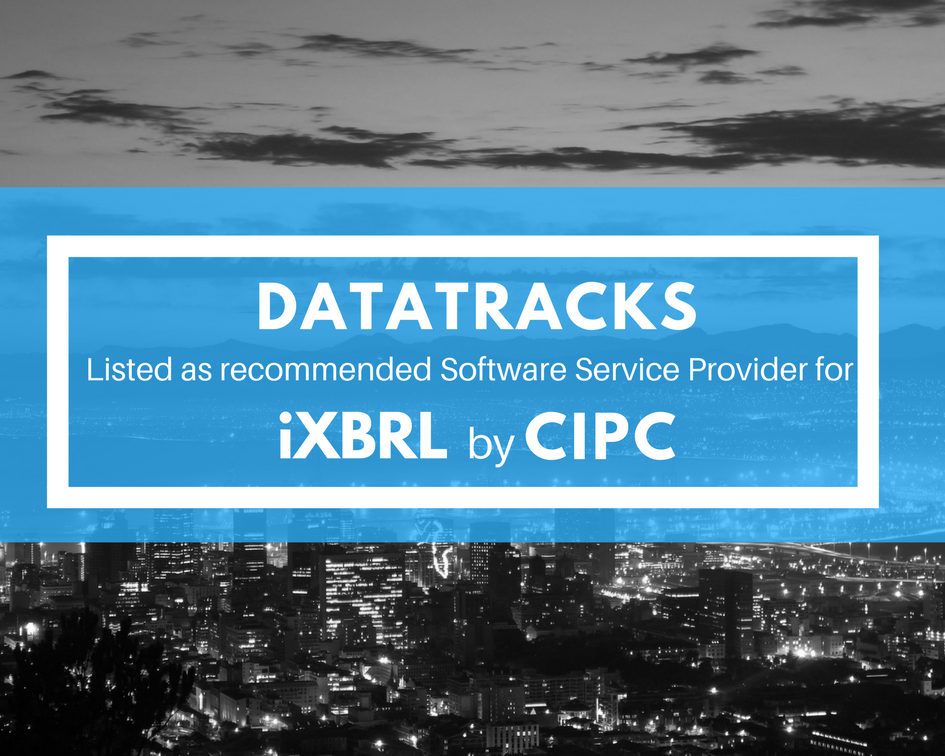 DataTracks Listed as Recommended Software Service Provider (SSP) for iXBRL by CIPC