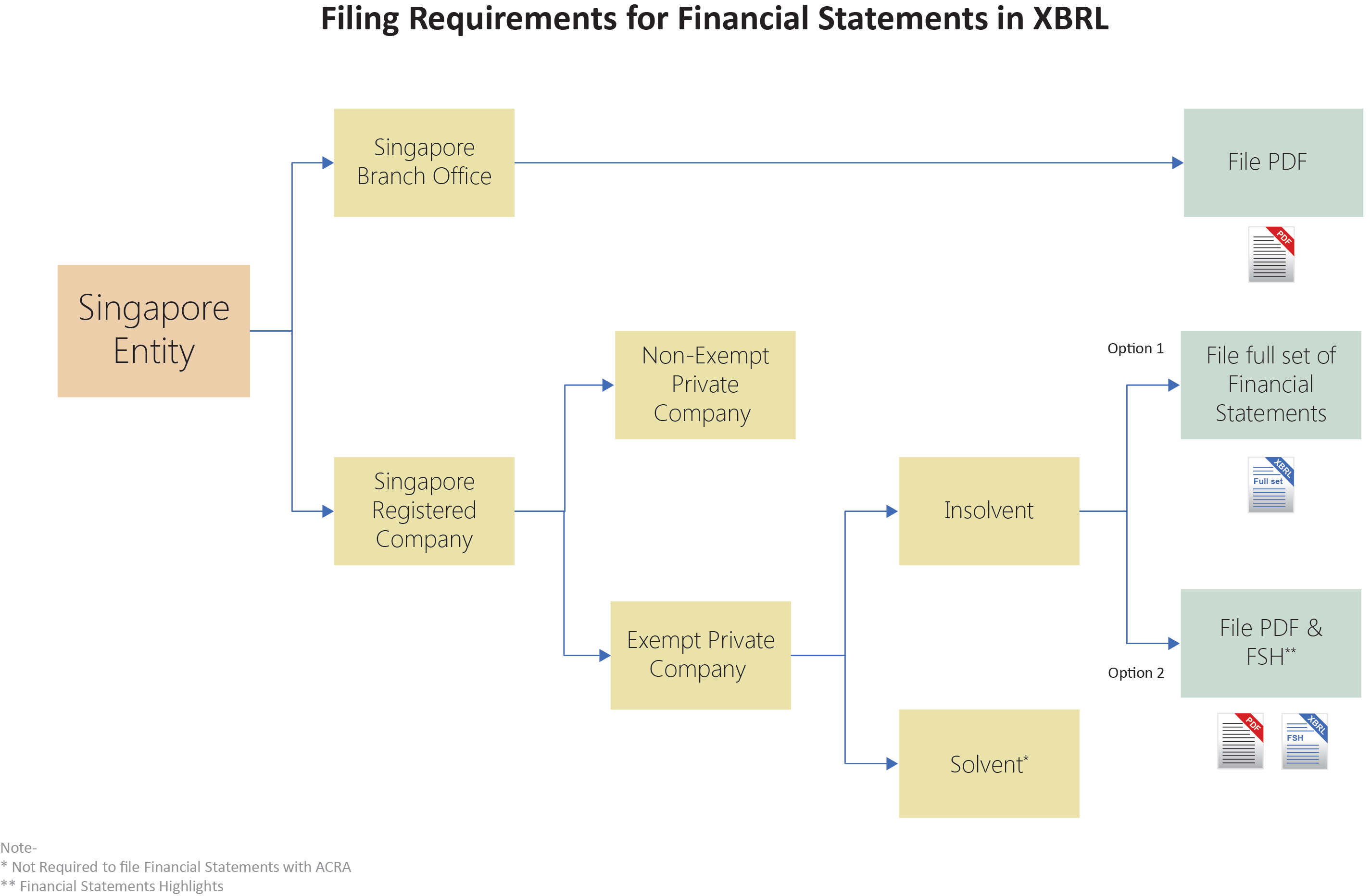 XBRL Filing Services With ACRA